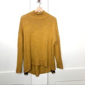Mustard Yellow Knit Sweater